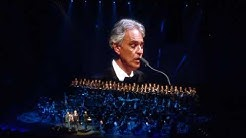 Con te partiro performed by Andrea Bocelli at Hartwall arena Finland