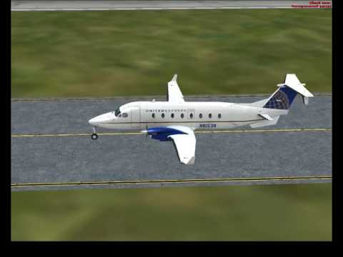 Beechcraft 1900D United airlines