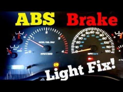 Dodge Ram ABS, Brake Light & Speedometer Fix! (EASY)