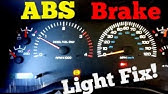 ABS and traction control light stay on - 2012 Ram fix - YouTube