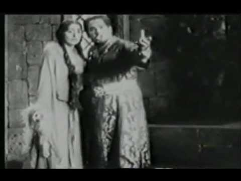 Manuel Salazar as Verdi's Otello - 1930 - Complete movie