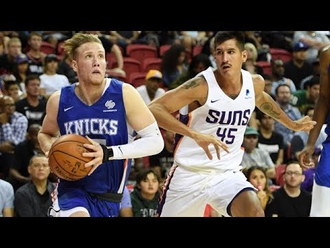 Suns vs. Knicks Summer League Highlights: Ignas Brazdeikis Goes OFF for 30