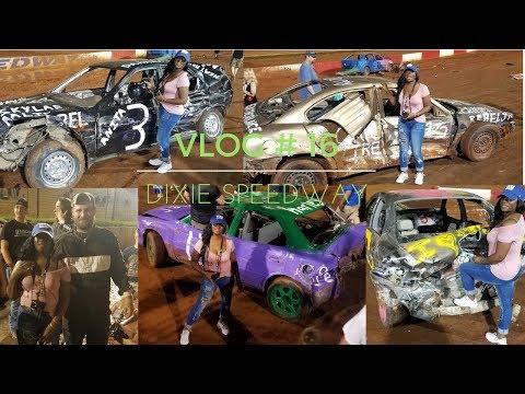 VLOG #16 FUN/Dixie SpeedWay