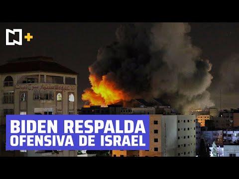 Biden respalda derecho de Israel a defenderse