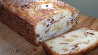 Savory Apple Bacon Quick Bread - Gluten Free Recipe
