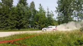 Kubica .Gołdap 1 Rally Poland 2014