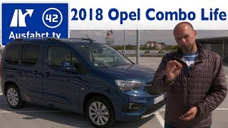 2018 Opel Combo Life 1.2 Turbo Innovation - Kaufberatung, Test, Review