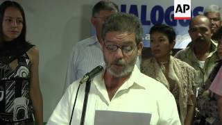 FARC claims peace talks with Colombia remain on track