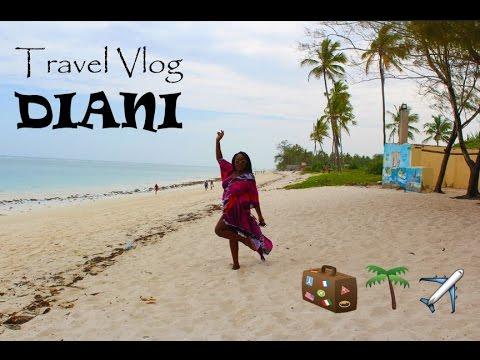TRAVEL VLOG: Diani, Kenya | New Years