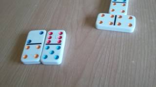 How to play Straight & Five Up Dominoes!