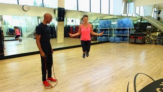 Jump Rope Workout, Leg Toning Exercise, Fit How To
