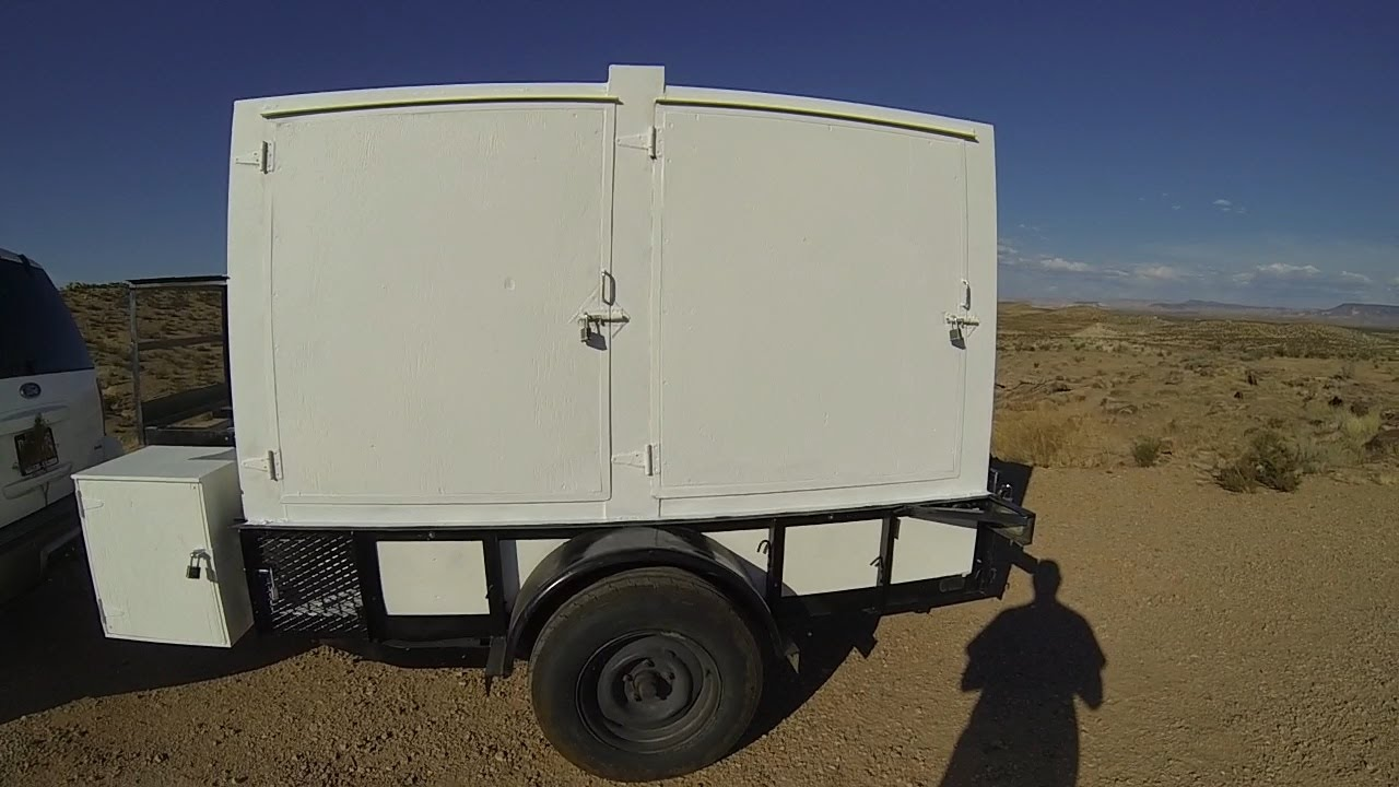 Custom Bug Out Trailers : Bug out trailer hour kit camping youtube