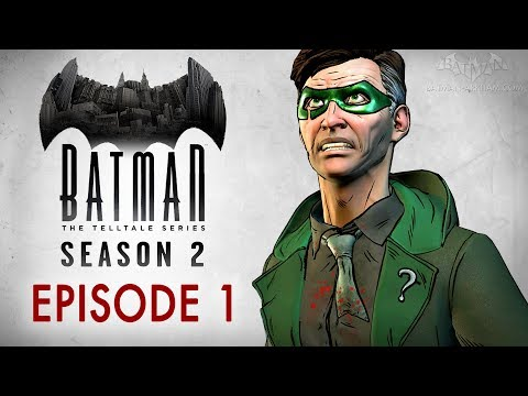 Batman: The Enemy Within - Episode 1 - The Enigma (Full Episode)