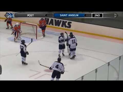 HIGHLIGHTS: Men's Ice Hockey 4, Post 0