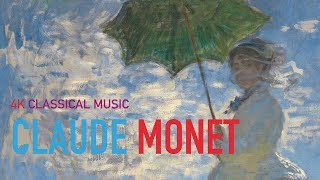 4K Art Screen_V3_UHD Monet Paintings 16:9 Size Classcal Piano Music
