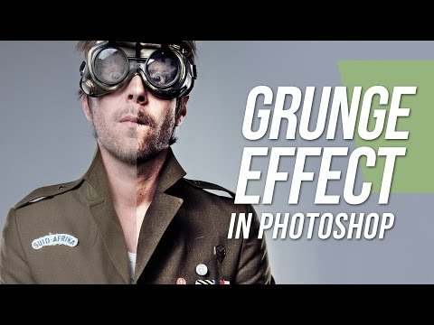 Grunge Effect - Photoshop Tutorial thumbnail