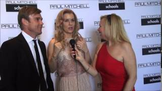 Ricky & Andrea Schroder at Paul Mitchell School Funraiser for Wells Of Hope!