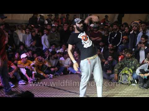 Popping Dance Round : Bharat Jam Dance Battle 2019