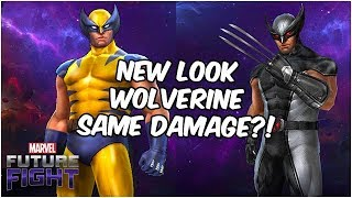X-Force Wolverine Looks AMAZING! The 3rd Skill Needs A Buff... - Marvel Future Fight