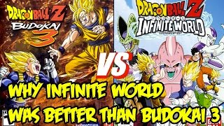 The Best Dragon Ball Z Game Of All Time?! Why Infinite World Was WAY Better Than Budokai 3
