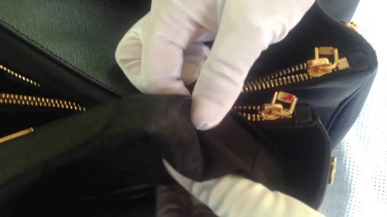 650a58f2f03a8 PRADA Saffiano Lux Tote Bag Review Authentic vs Replica - YouTube
