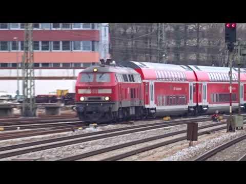 Züge/Trains in  München Ostbahnhof [03.2017] Part 1/2