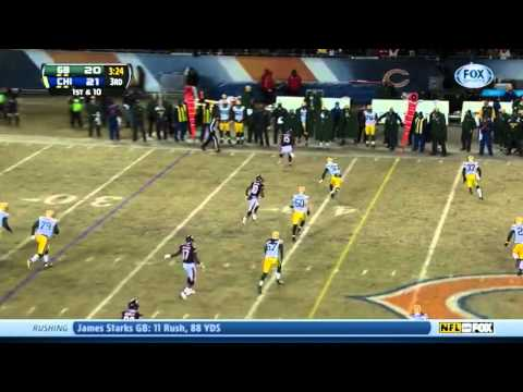 Every Jay Cutler Throw vs Green Bay Packers Week 17 2013