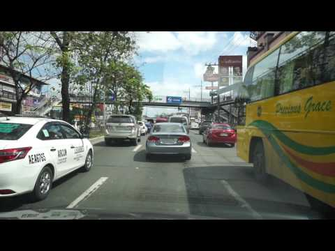 Philippines, Quezon City, Uber ride from Fairview to Quezon Avenue