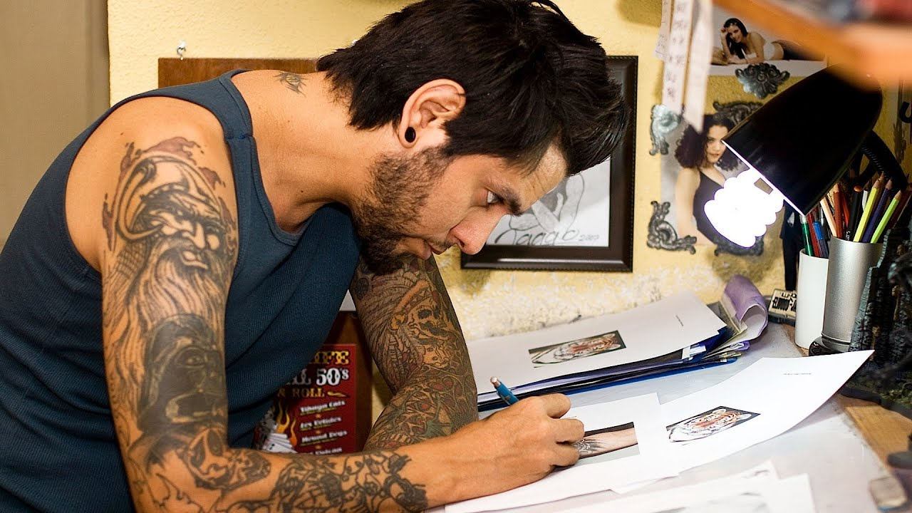 How to Practice Tattooing | Tattoo Artist - YouTube