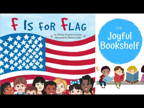 🇺🇸 F Is For Flag 🇺🇸| Read Aloud For Kids! | Patriotic Books For Kids!