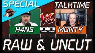 TalkTIME bei H4NS - Mit DasMonty | RAW & UNCUT | Themen: Grafikkarten, Retro + Konsolen