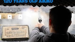 Disassembling and Shooting 120 Years Old .455 Webley Ammo