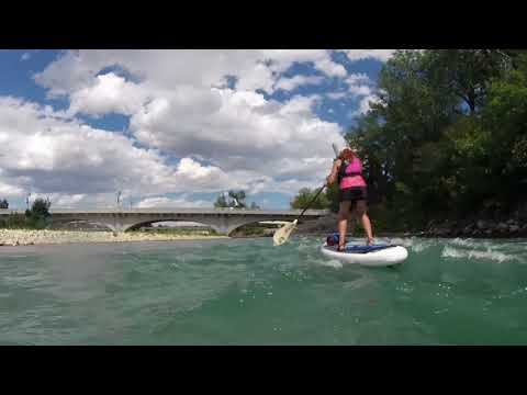 Bow River SUP in Calgary