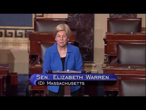 Senator Elizabeth Warren on the Fair Pay and Safe Workplaces order repeal
