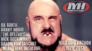 Mad Dog Vachon tribute - Von Raschke, Bockwinkel, Ox Baker, Destroyer, Hodge and Okerlund