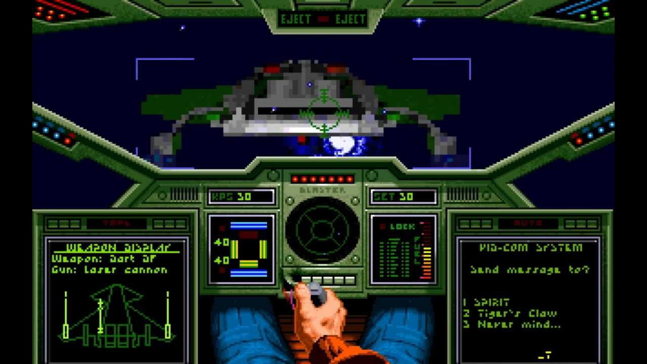Wing Commander Misson 1 Gameplay Youtube