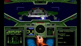 Wing Commander - Misson 1 Gameplay