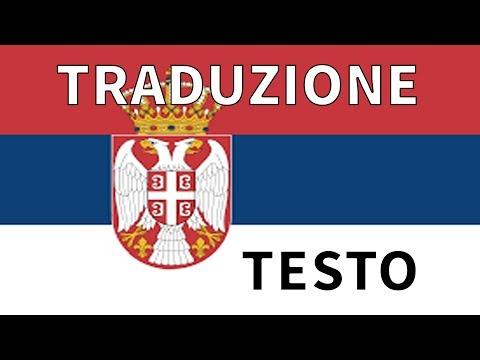 Inno nazionale Serbia TRADUZIONE + TESTO Italiano - Bože Pravde