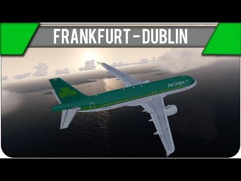 [P3D] Frankfurt - Dublin | EIN65T | Es geht nach Irland! [IVAO] [GER]