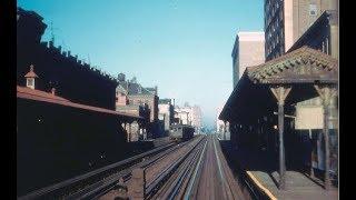 3rd Ave EL Uptown movie footage