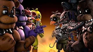 FNAF Battle Who Will Win WWE 2K17