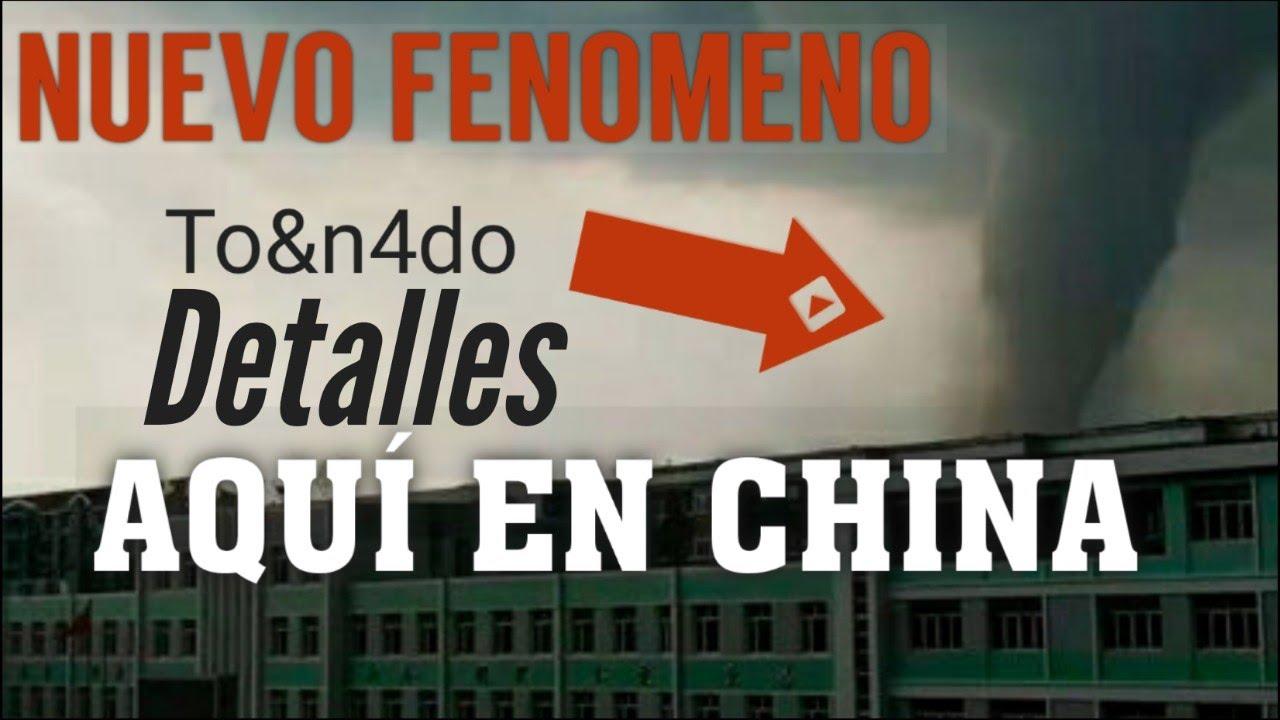 OTRO FENÓMENO INUSUAL en CHINA (lo que debes saber los último cambios)