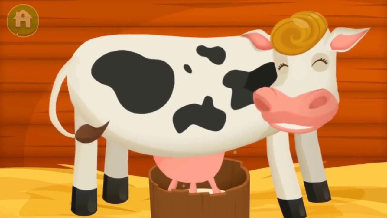 Dirty Farm Animals For Kids - Learn Animal Names