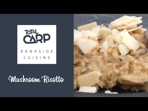 Cook a perfect mushroom risotto on-the-bank