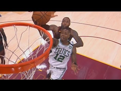 LeBron James Shuts Down Terry Rozier with Amazing Chase Down Block! Cavaliers vs Celtics Game 6