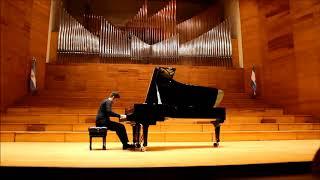 KAPUSTIN: Preludio Nº 3, Op. 53. JAVIER VILLEGAS