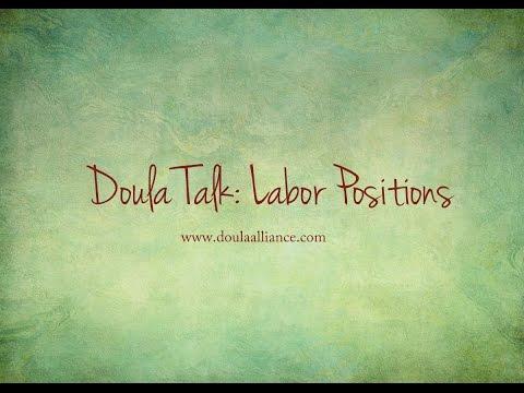 Doula Talk: Labor Positions