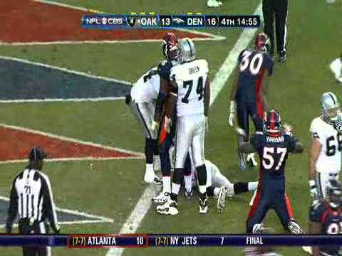 Raiders vs  Broncos highlights