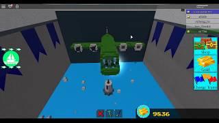Roblox - Construire un bateau pour le trésor avion de l'armée