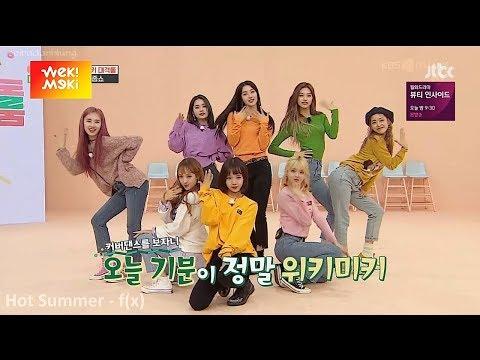 Weki Meki Dance Cover Girlgroup Songs [SNSD, f(x), Red Velvet, GFriend, Sunmi, Blackpink...]